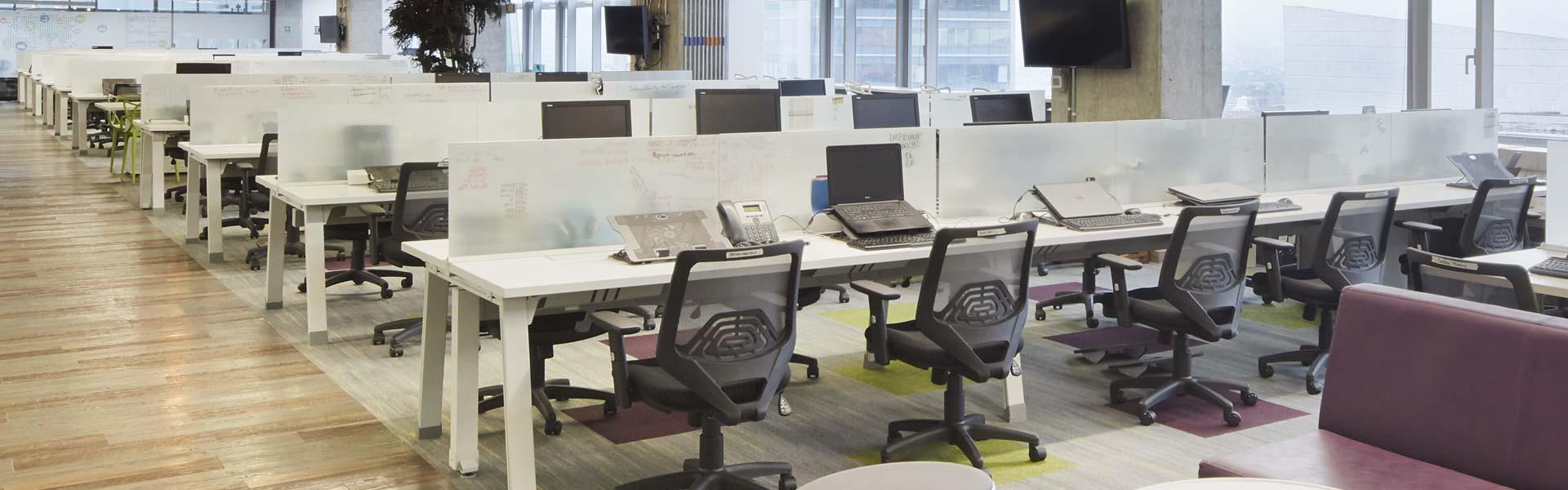 Ducon muebles y mobiliario para oficina divisiones for Tipos de mobiliario de oficina