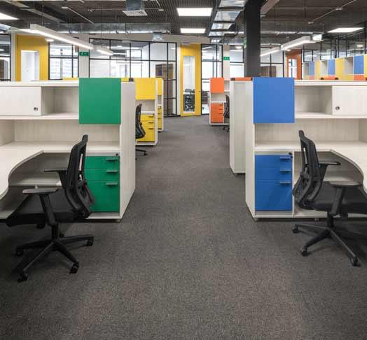 Modulos Para Oficinas Pequenas.Ducon Muebles Y Mobiliario Para Oficina Divisiones Para Oficina